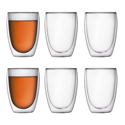 Bodum Pavina Double Wall glass 0.36L 6pk