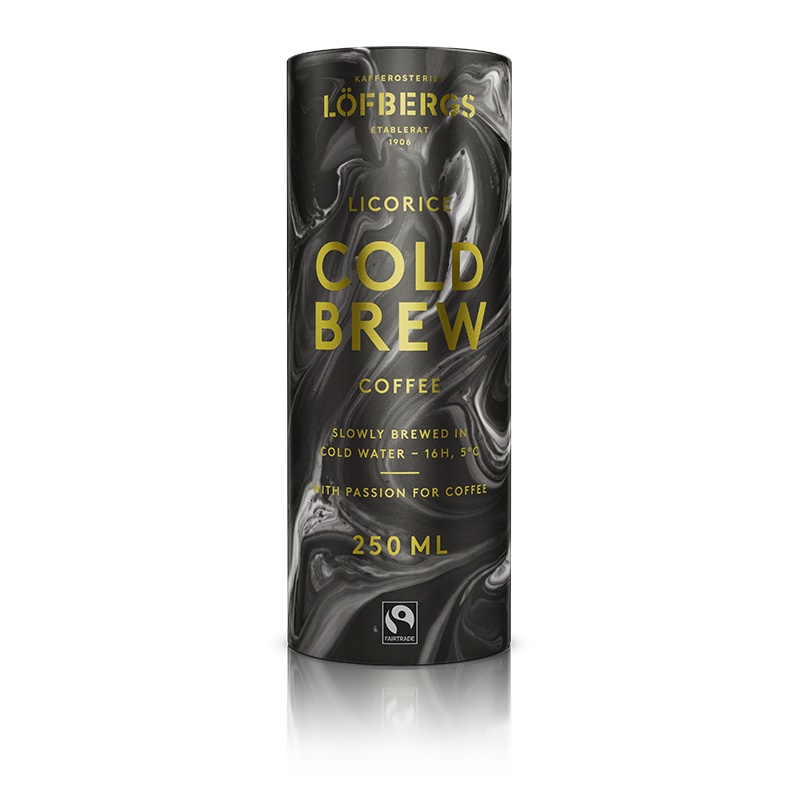Löfbergs Cold Brew - Licorice 250 ml