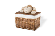 Lucile the hairy sheep lid basket