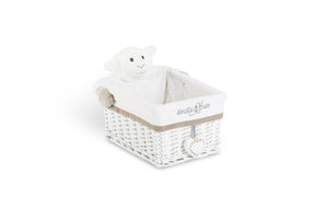 Margo the lamb rectangle basket set