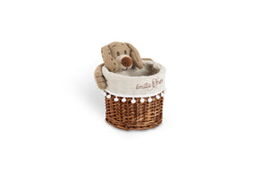 Bay the dog round basket set