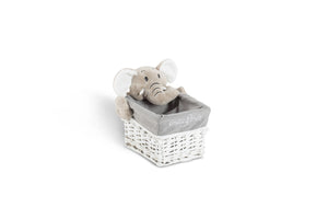 Bernard the elephant rectangle basket set
