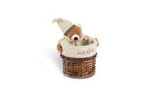 Polo the sleepy bear round basket set