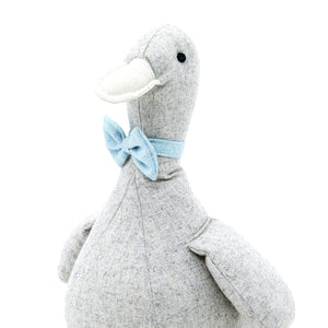 Emilie et Theo Eadgar the Duck Doorstop