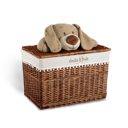 Bay the dog lid basket