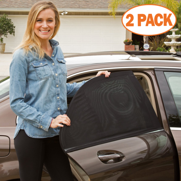 Last day promotion 65% OFF-Car Window Sun Shade(Fits all Cars)