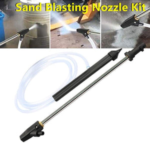 High Pressure Washer Wet Sand Blasting Kit🔥Last day promotion