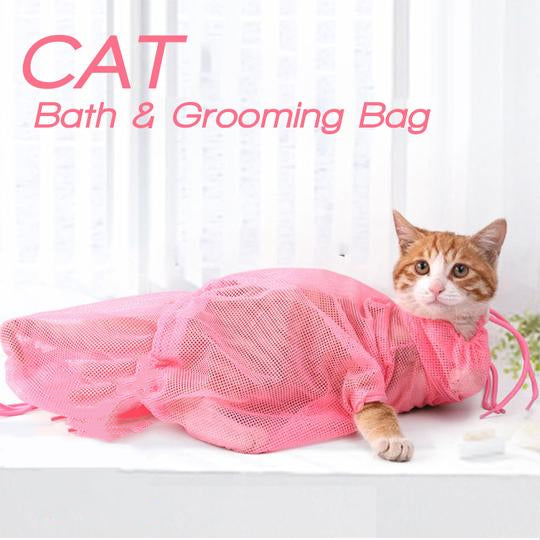 Cat Bath And Grooming Bag