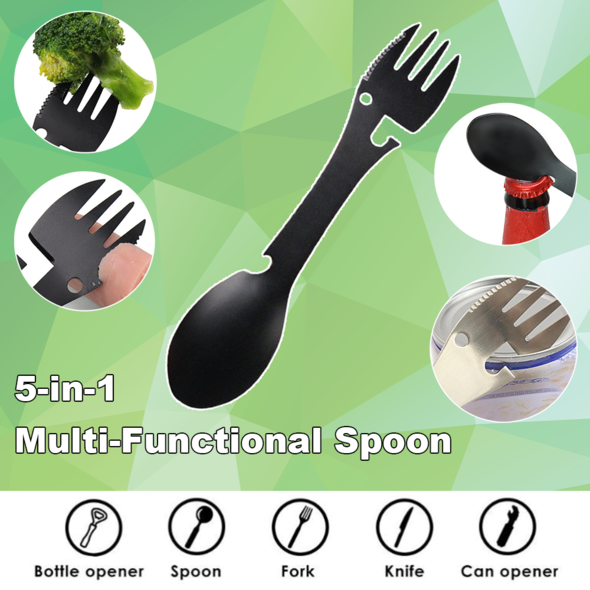 5-in-1 Multi-Functional Spoon