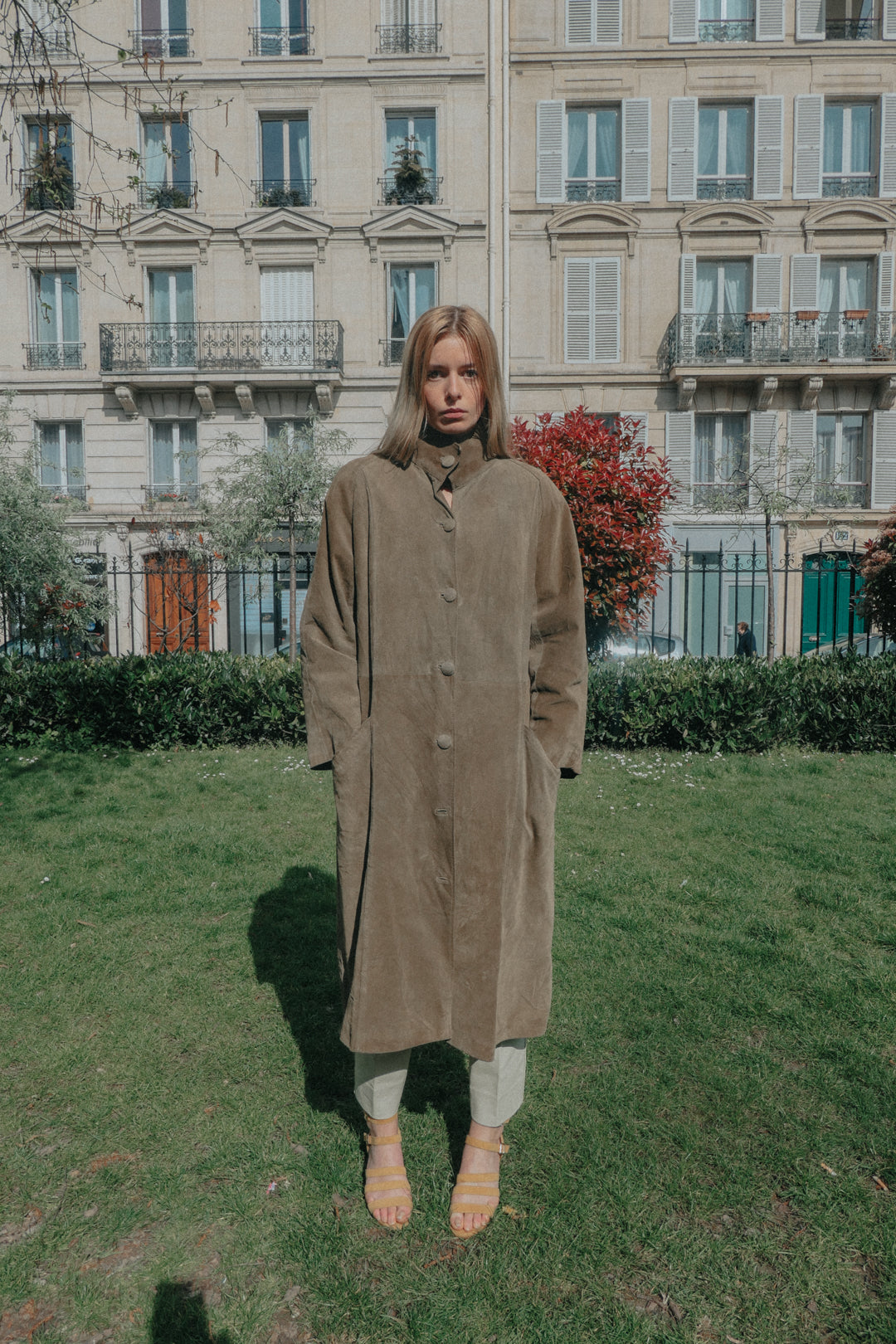 PARIS - The Suede Coat