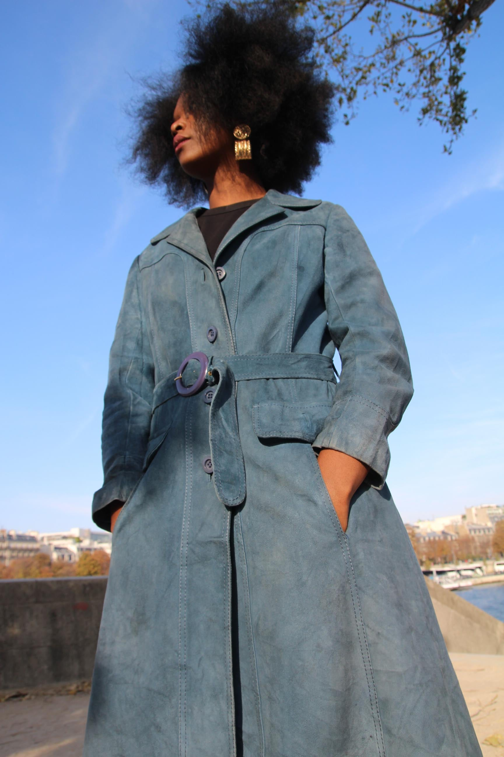 Paris - Suede Trench