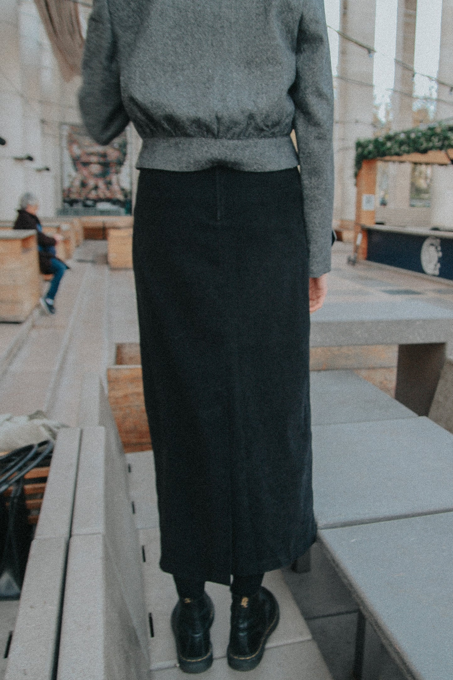 PARIS - Velvet Dark Skirt