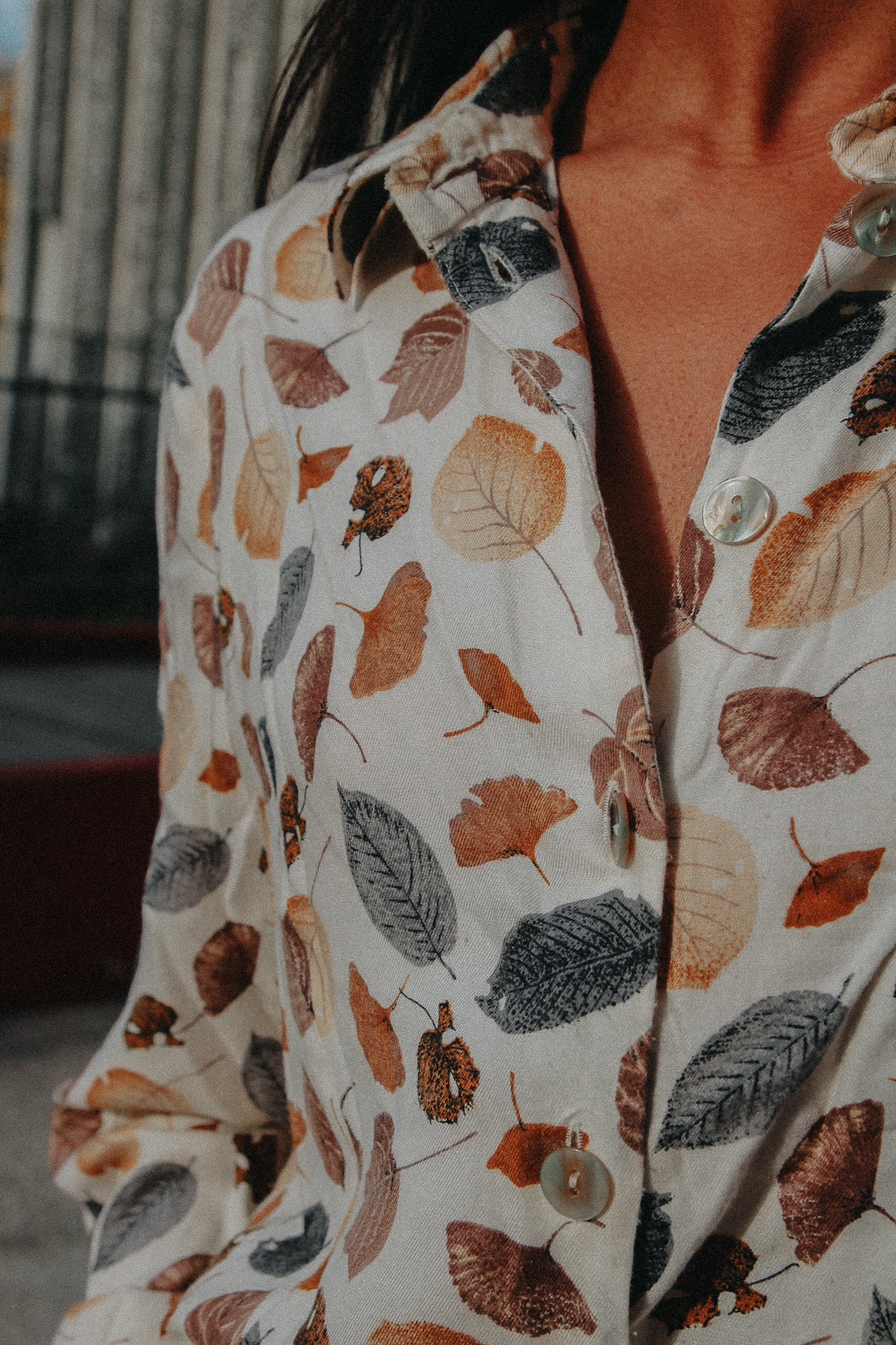 PARIS - Leaves Shirt