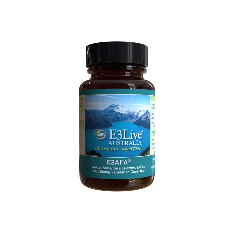 AFA by E3Live® Capsules - For Overall Health and Well-being