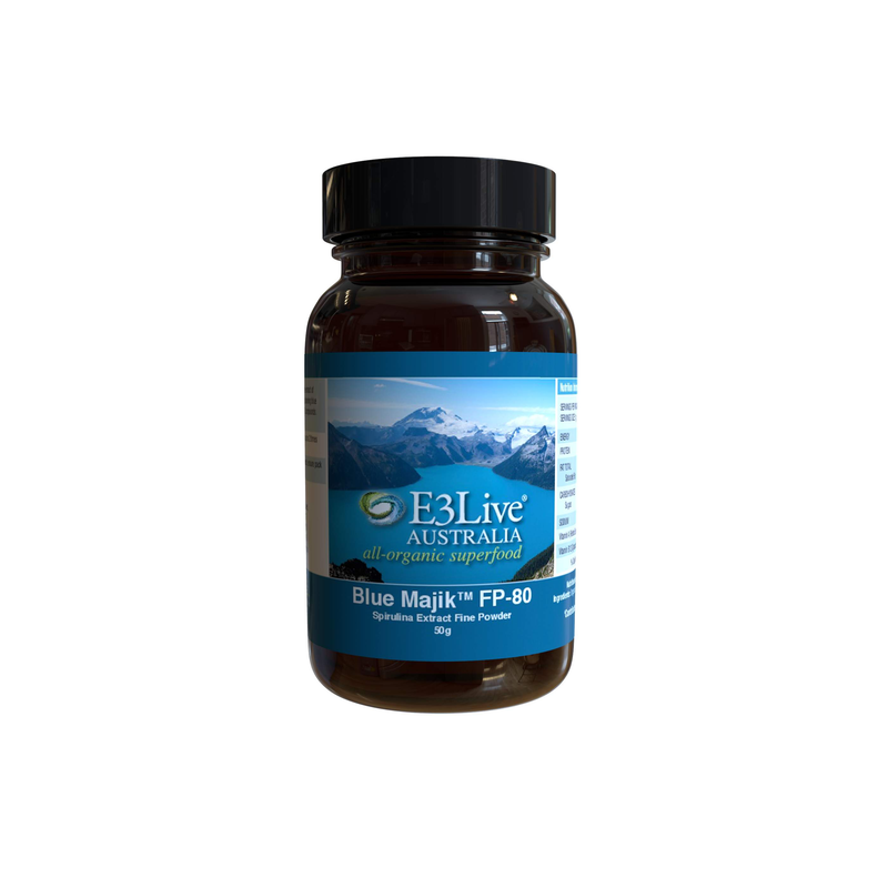 Blue Majik™ by E3Live® Powder - Providing Impressive Antioxidant and Anti-Inflammatory Effects