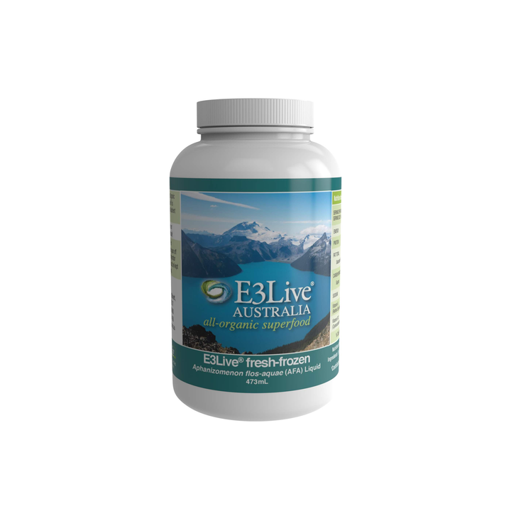 AFA by E3Live® Fresh-Frozen Liquid - For Overall Health and Well-being