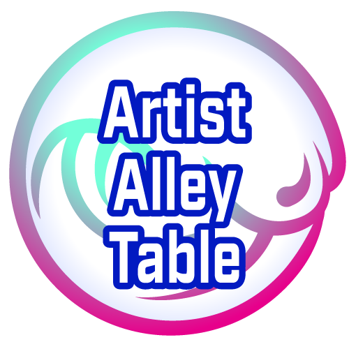 2019 Mizucon Artist Alley Table