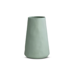 Light Blue Tulip Vase - Large