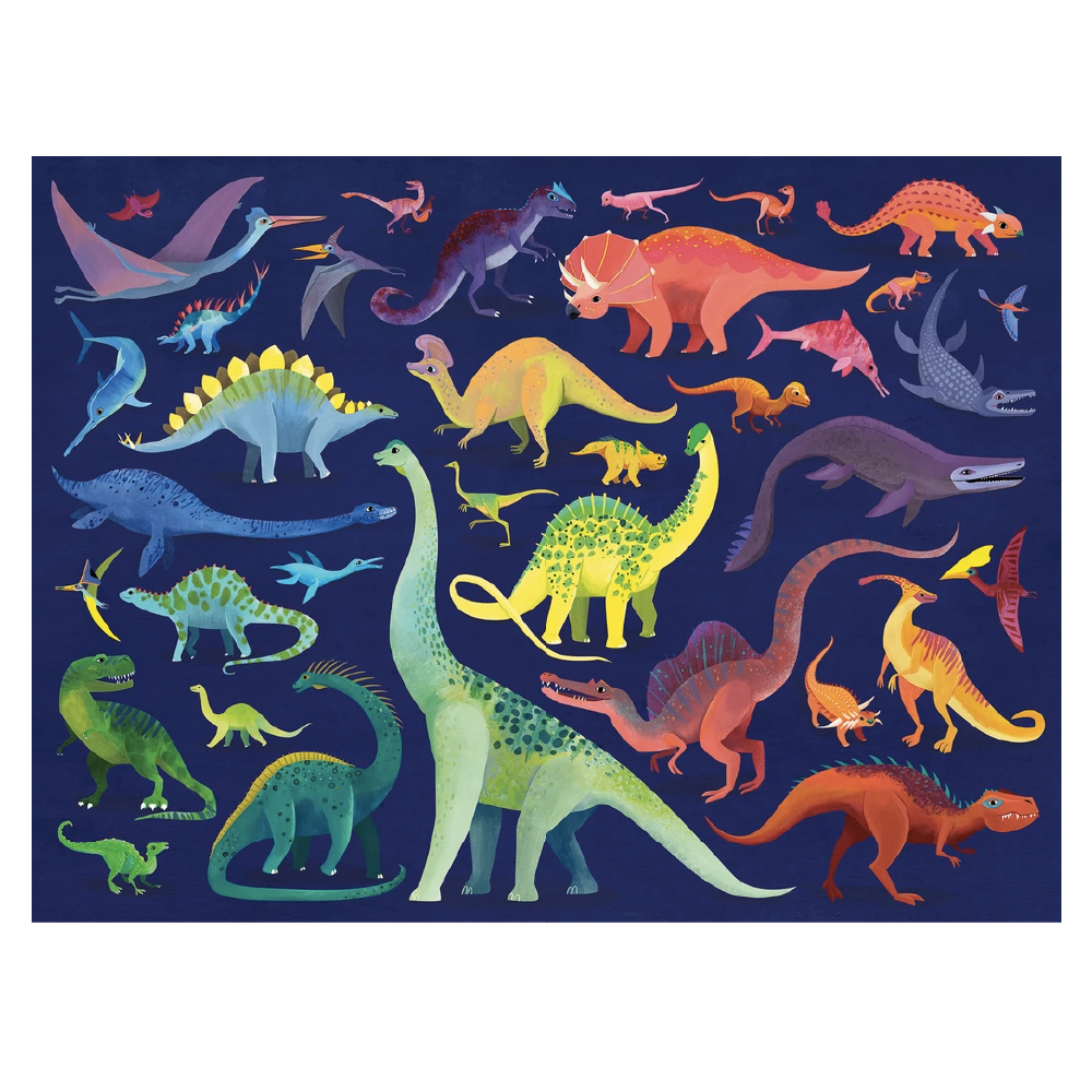 Puzzle 500pc - Dino World