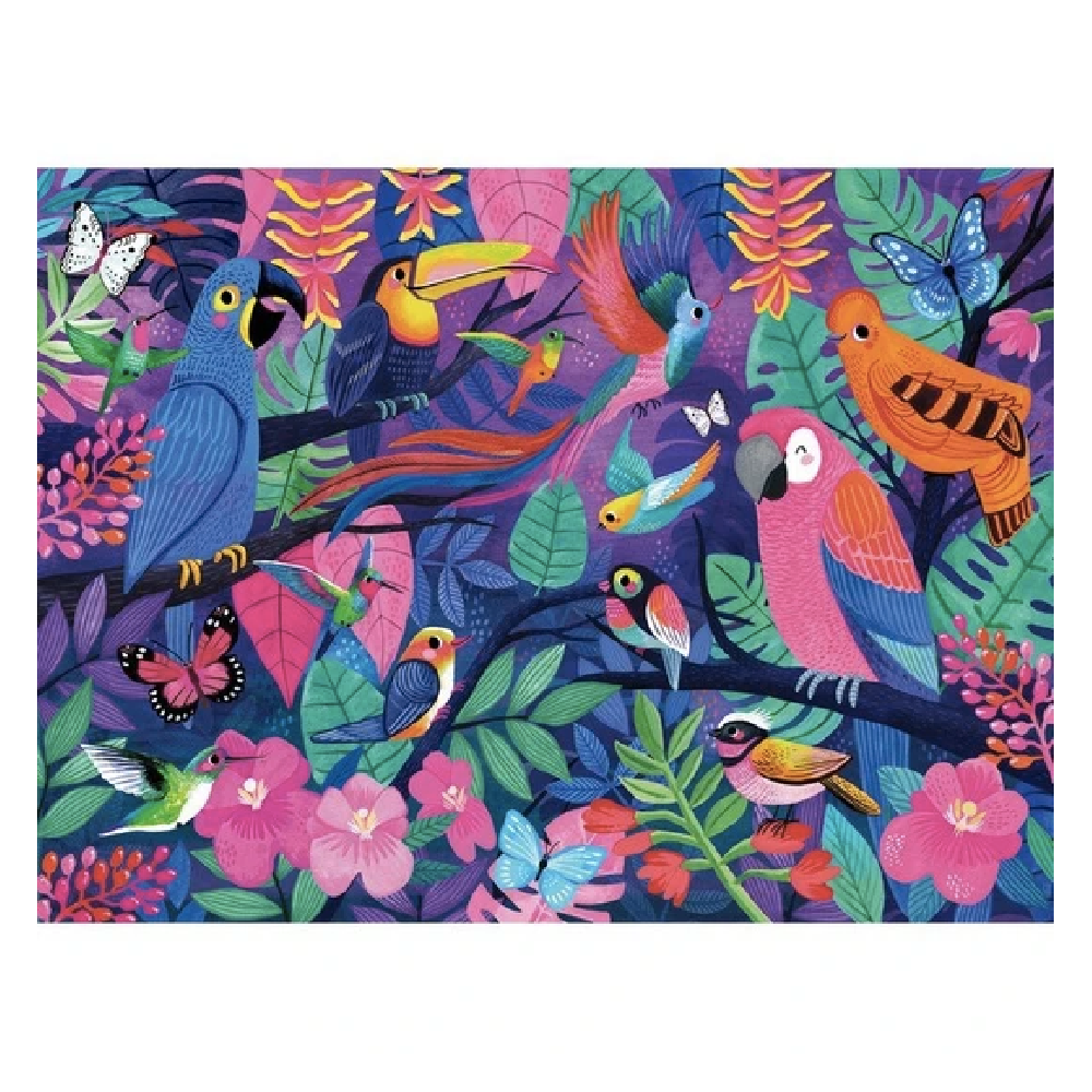 Puzzle 500pc - Birds of Paradise