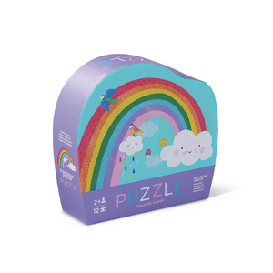 12pc Mini Puzzle - Rainbow