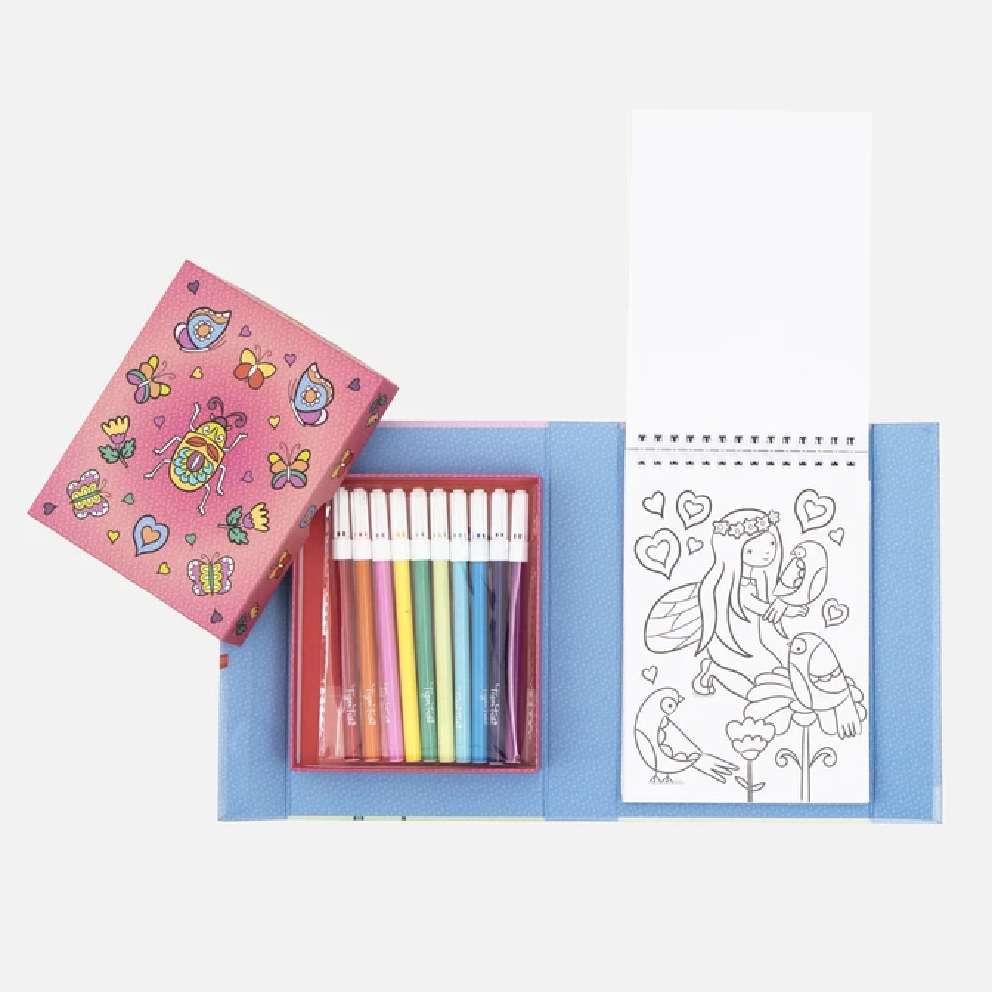 Colouring Set - Hidden Pattern / Fairy