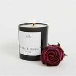 Candle - Rose & Oudh