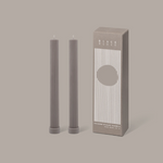 Column Pillar Candle Duo  - Beige