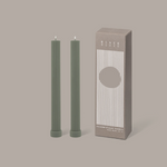 Column Pillar Candle Duo  - Eucalyptus