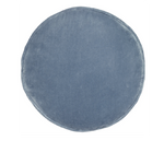 CASTLE Penny Round Cushion - Dusty Blue