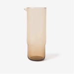 Piccadilly Glass Carafe - Smoke Brown