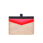 Alexis Card Holder - Rose Gold Multi