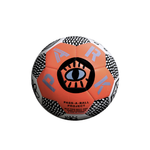 Small Neon Orange Ball