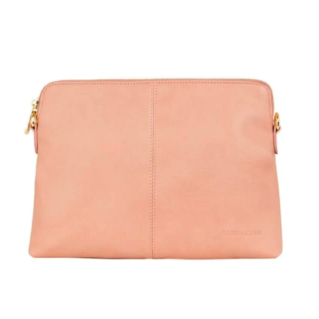 Bowery Clutch - Nude Pebble