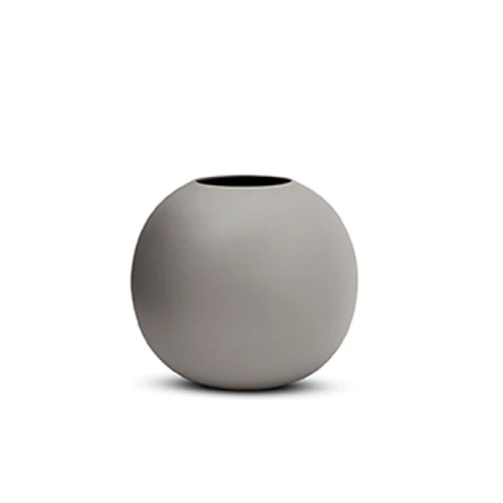 Dove Grey Bubble Vase - Small