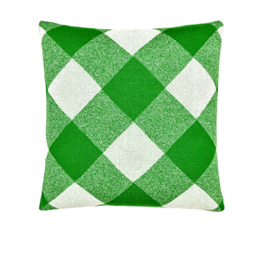 CASTLE Green Tartan Cushion