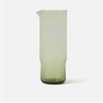 Piccadilly Glass Carafe - Olive