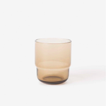Piccadilly Glass Tumbler - Smoke Brown
