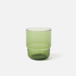 Piccadilly Glass Tumbler - Olive