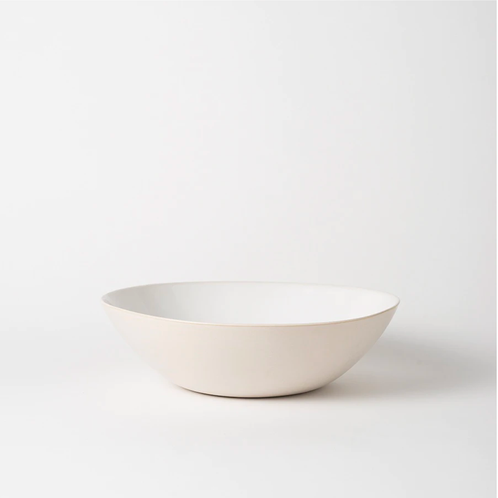Large Talo Salad Bowl - White