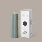 Wide Column Pillar Candle - Eucalyptus