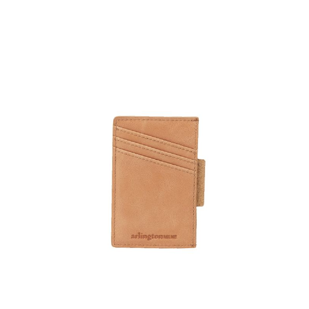 Johnny Card Holder - Vintage Tan