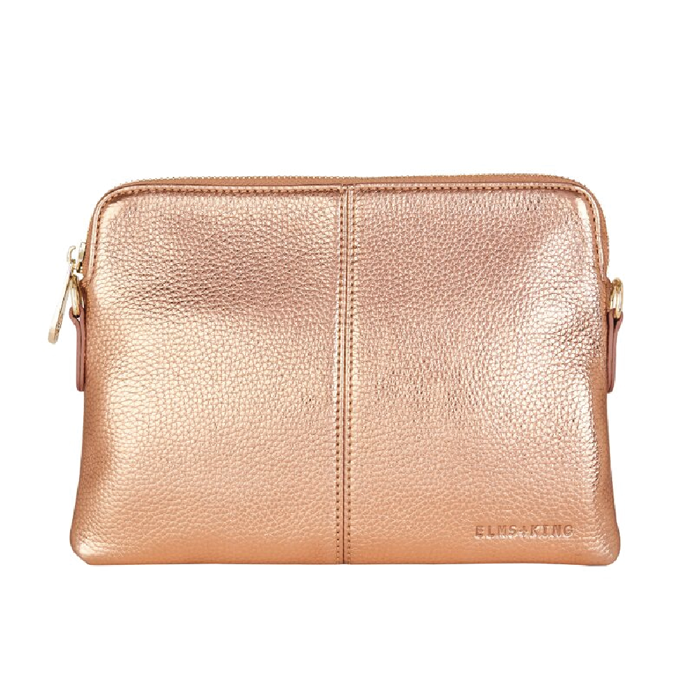 Bowery Wallet - Metallic Rose
