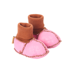 Baby Booties - Hot Pink 3/6 months