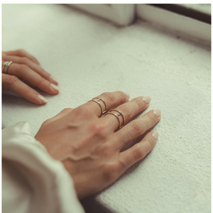 Seeker Ring - Rose Gold