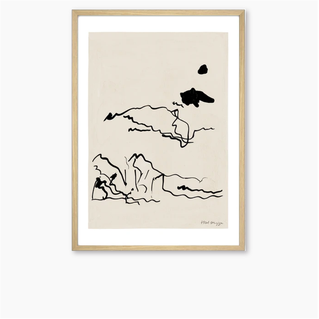 Hotel Magique A3 Print - The Sunbathers