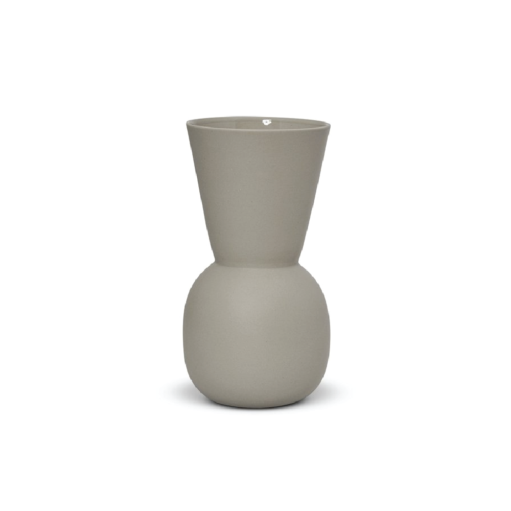 Dove Grey Cloud Bell Vase - Small
