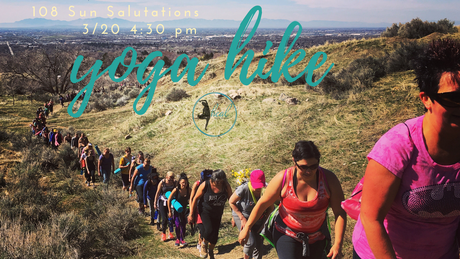 108 Sun Salutations and Yoga Hike
