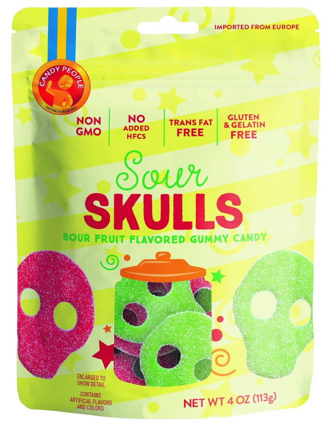 Candy People - Sour Skulls
