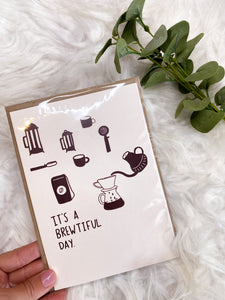 Brewtiful Day Card